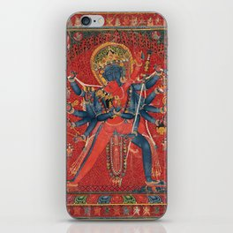 Hindu God Sexual iPhone Skin