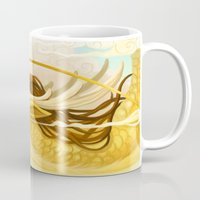 asian Mugs featuring Asian Dragon by Sunset Dragon
