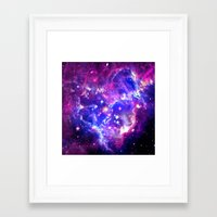 galaxy Framed Art Prints featuring Galaxy. by Matt Borchert