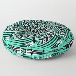 Wind Spirit (Aqua) Floor Pillow