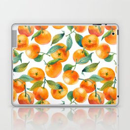 Mandarins With Leaves Laptop & iPad Skin