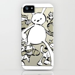 minima - beta bunny iPhone Case