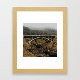 Cape Perpetua Framed Art Print