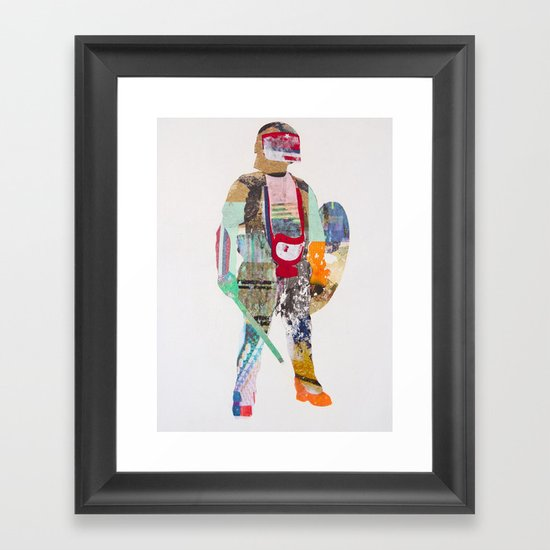 Defender Framed Art Print