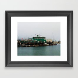 Docks Framed Art Print
