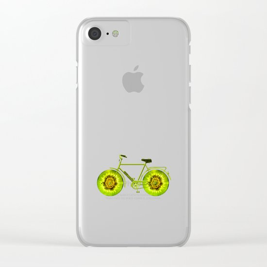 Kiwi Bike Clear iPhone Case