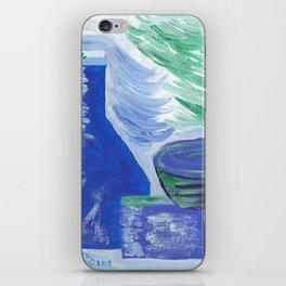 Blue Rhapsody A Still Life iPhone Skin