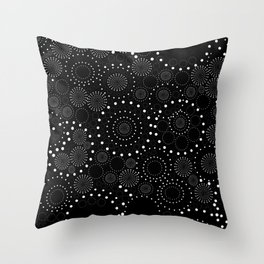 Seeing Spots and Dots! Throw Pillow