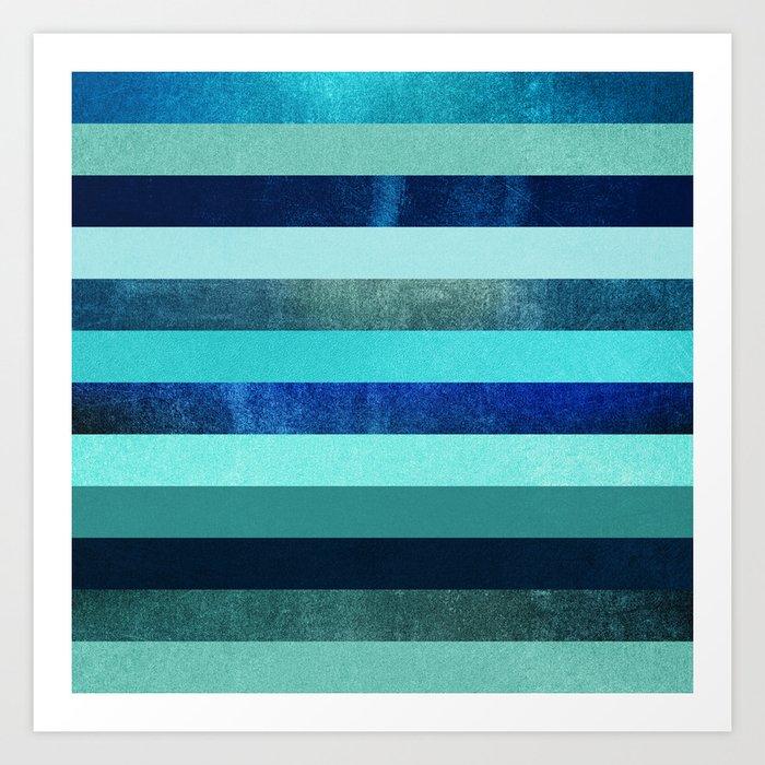 Deep Oceans Art Print