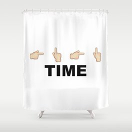 Limiter Time Shower Curtain