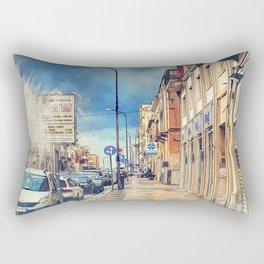 Trapani art 20 Sicily Rectangular Pillow