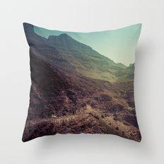 Mountains - The Adventure Throw Pillow