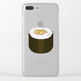 Sushi Roll Clear iPhone Case