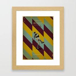 Burnley - McIlroy Framed Art Print