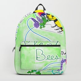 Plant Flowers Bees Like Backpack
