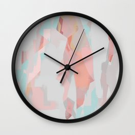 Abstract Painting No. 18 Wall Clock