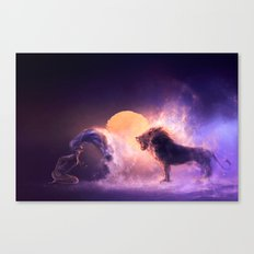 LEO from the Dancing Zodiac Canvas Print