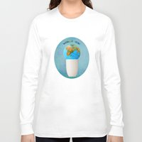 world cup Long Sleeve T-shirts featuring World cup by Anne Seltmann
