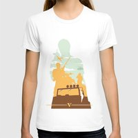gta v T-shirts featuring GTA V - TREVOR PHILIPS by ahutchabove
