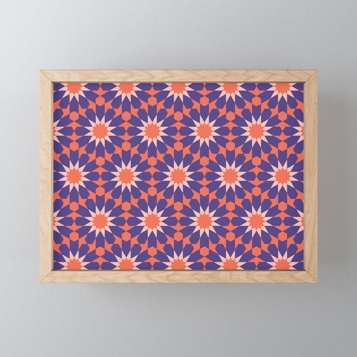 Cosy Moroccan Framed Mini Art Print