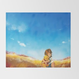 Everything is Right Throw Blanket