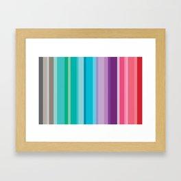 Rayas mijals Framed Art Print