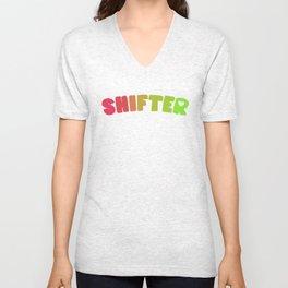 Shifter (Aroflux) Unisex V-Neck