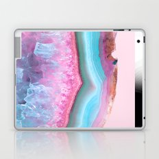 Rose Quartz and Serenity Agate Laptop & iPad Skin