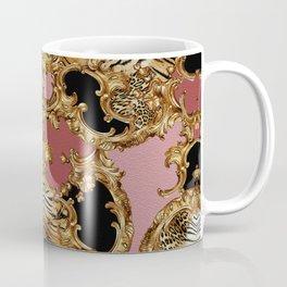 Baroque Inspired Luxury Animal Print design 0014 DECORATIVE EUROPEAN DESIGN Coffee Mug