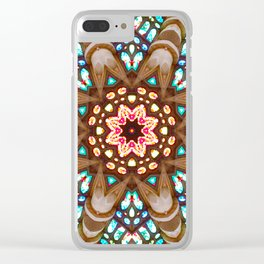 Sagrada Familia - Vitral 1 Clear iPhone Case