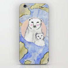 Polar Bear Portrait iPhone & iPod Skin