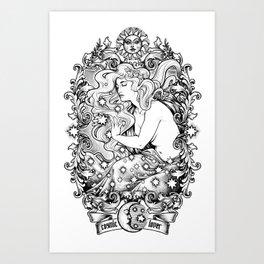 Cosmic Lover Art Print