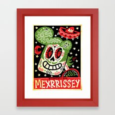 Mexrrissey Calavera Framed Art Print
