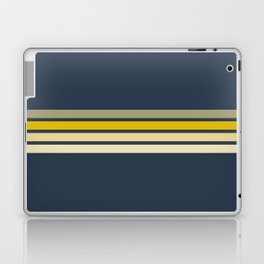 Racing Retro Stripes Laptop & iPad Skin