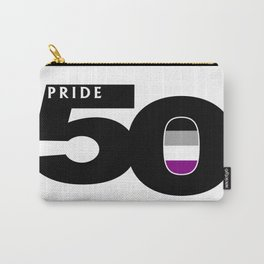 50 Pride Asexual Pride Flag Carry-All Pouch