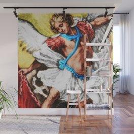 """Archangel Mondays"" Painting by Jeanpaul Ferro Wall Mural"