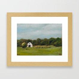 Oklahoma 43/100 Framed Art Print