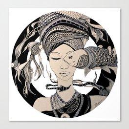 Fisheye Canvas Print
