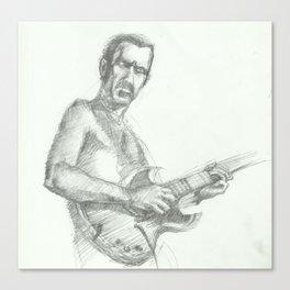 ANALOG zine - Zappa Canvas Print