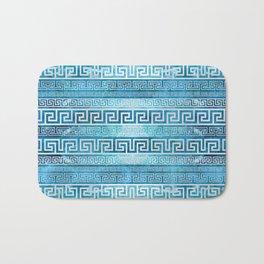 Greek Meander Pattern - Greek Key Ornament Bath Mat