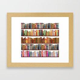 Jane Austen Vintage Book collection Framed Art Print