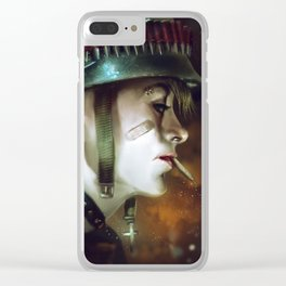 Tank Girl Clear iPhone Case