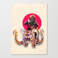 OCTOTIGER OF DOOM Canvas Print