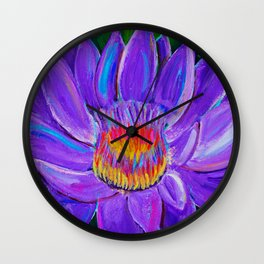 FireLily Wall Clock