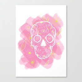 Candy Skull Canvas Print