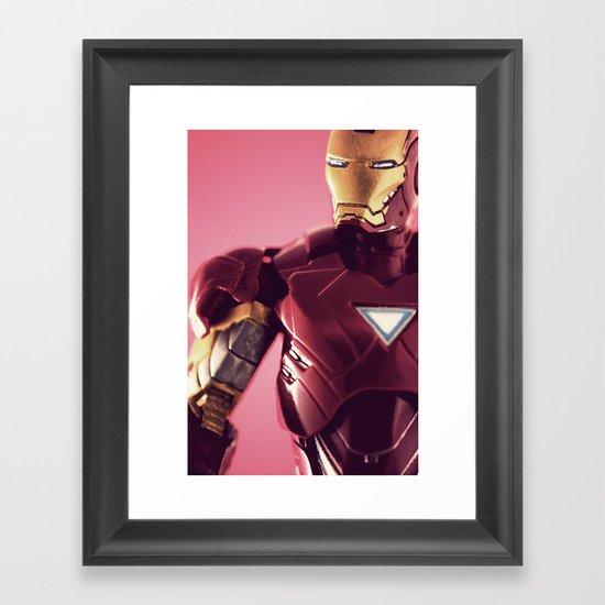 Brute Strength  Framed Art Print