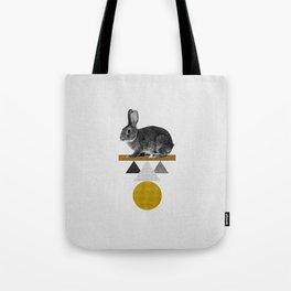 Tribal Rabbit Tote Bag
