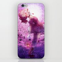 madoka magica iPhone & iPod Skins featuring Madoka Magica Madoka Kaname  by RootisTabootus