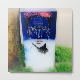 Frida Boxed Metal Print