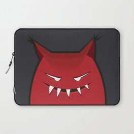 Evil Monster With Pointy Ears Laptop Sleeve